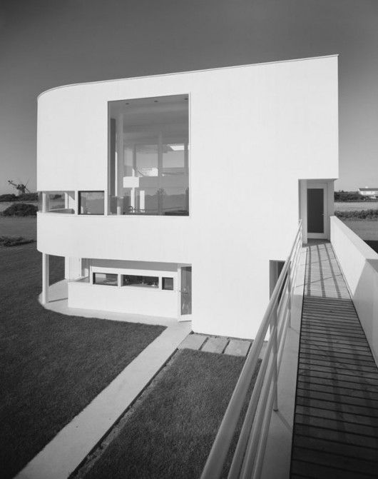 superior ad architects #5: AD Classics: Saltzman House / Richard Meier u0026 Partners Architects