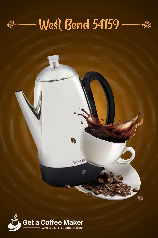 Top 10 Coffee Percolators June 2020 Reviews Buyers Guide Percolator Coffee Percolator Coffee Pot Percolator Coffee Maker