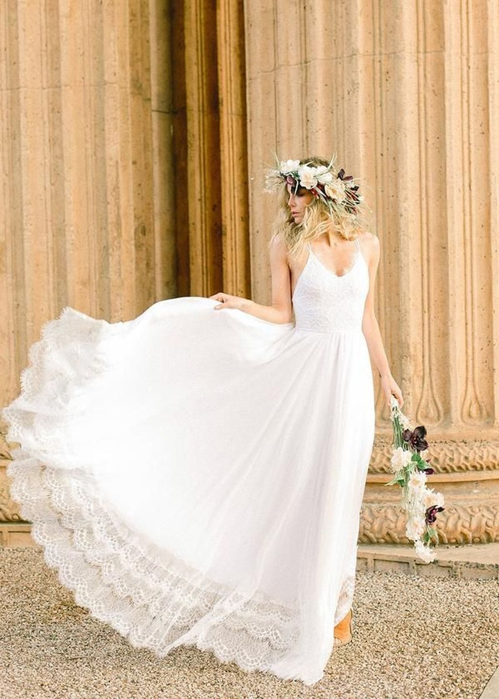 beautiful unique summer wedding dresses ideas gorgeous beach