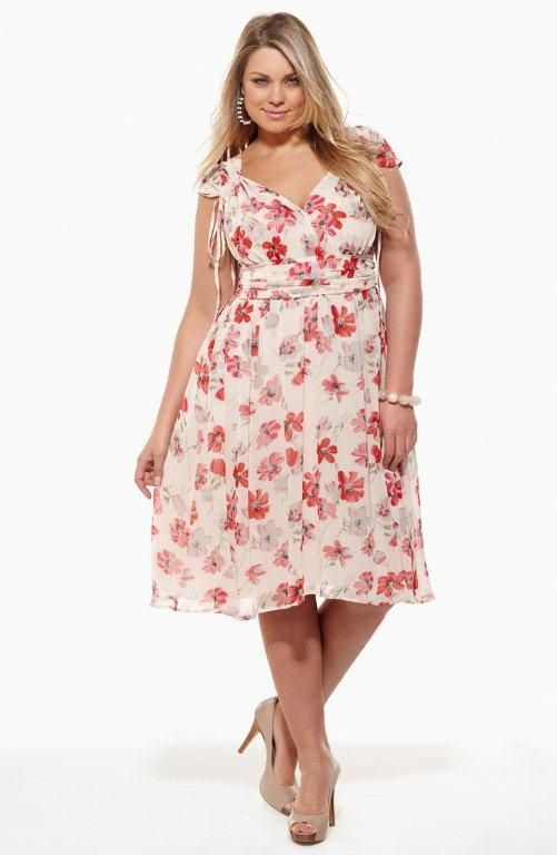 City Chic - GARDEN PARTY DRESS - Women's Plus Size Fashion - City ...