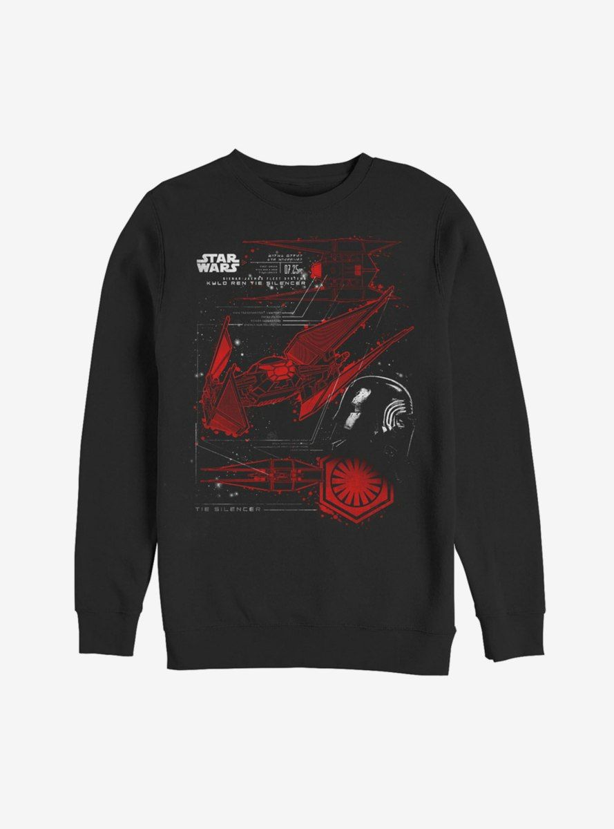 Star Wars Kylo Ren Awakened Mens Graphic Lightweight Hoodie