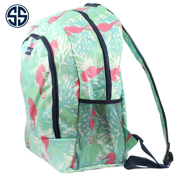 8f0b8de7a7c Simply Southern Preppy Collection Seahorse Backpack