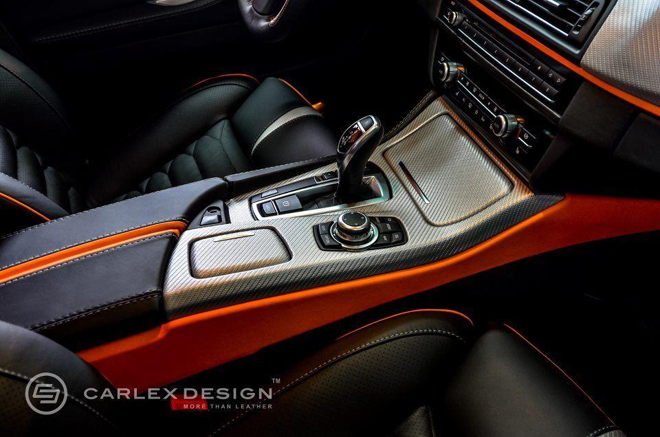 Bmw 5 Series The Ripper Custom Interior From Carlex Design