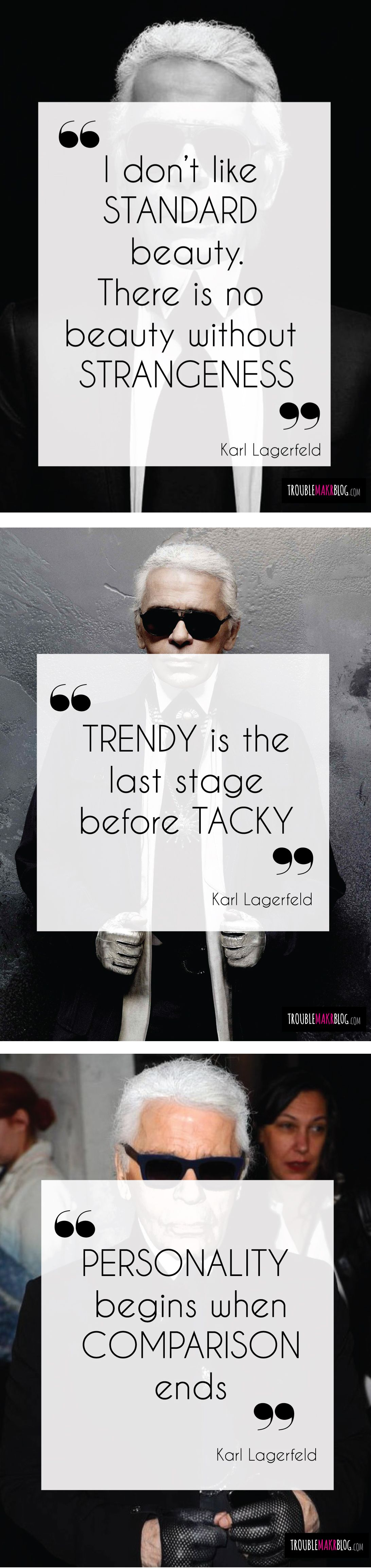 karl lagerfeld quotes, quotations, fashion | Nice 'n Wise