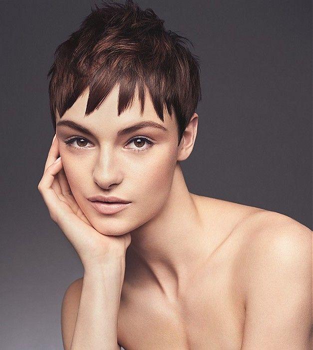 Regis Short Brown Straight Hair Styles Ukhairdressers Com Brown Straight Hair Long To Short Hair Hairstyle Gallery