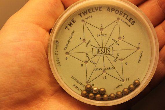 The Twelve Apostles Plastic Game by TortoiseandtheHare