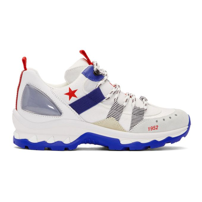 Alexander McQueen White 1952 Star Trainer Sneakers W3Y2QOt9
