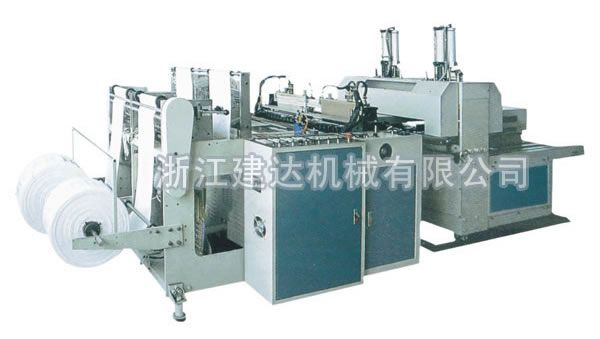 HIGH-SPEED DOUBLE-CHANNEL HEAT-SEALING HEAT-CUTTING BAG MAKING PRODUCT LINE