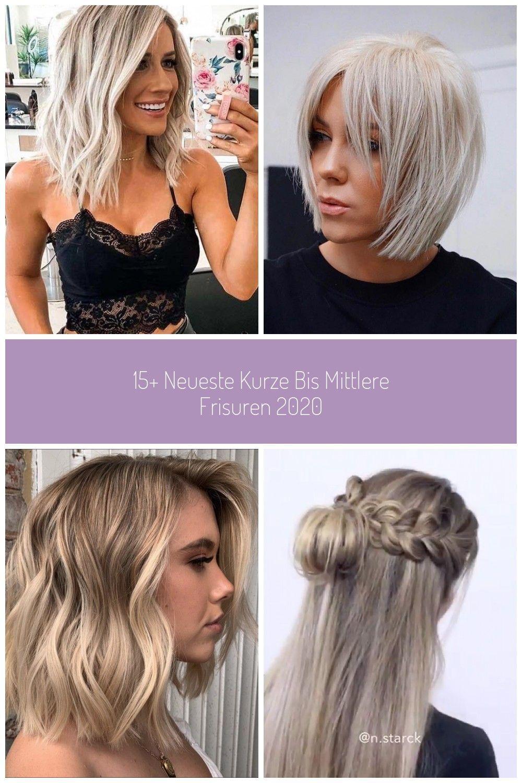 10+ Neueste Kurz- bis Mittelfrisuren 10 #Kurzes Haar #Kurzes