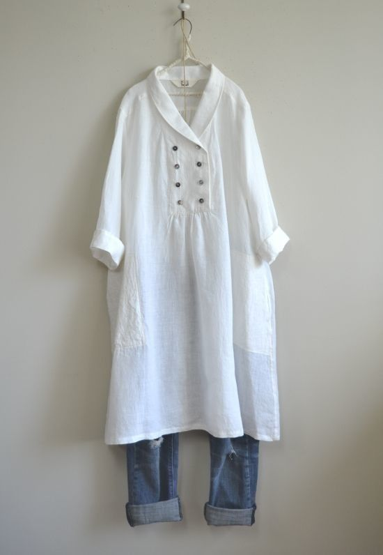 Pin di Jelena Ross su Linen dress  4dfad30fa66
