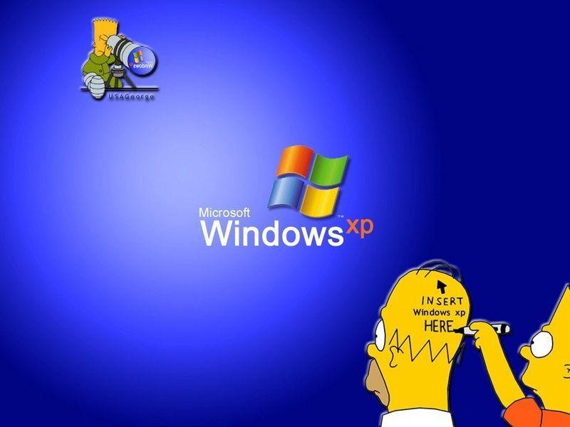 Pankdequeso Hola A Todos Hoy Les Traigo Unos Fondos Para Windows Xp Re Copados Solamente Backgrounds Funny The Simpsons Wallpaper Funny Computer Backgrounds Cool funny backgrounds microsoft cool