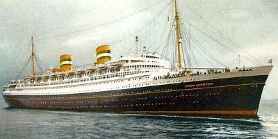 Nieuw Amsterdam - 1938 - Holland America Line