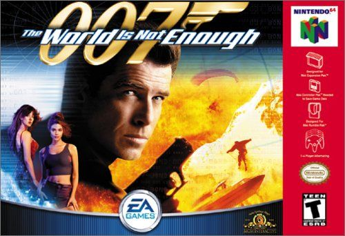 007 The World Is Not Enough Nintendo Nintendo 64 Games N64