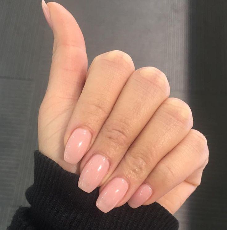 Sns nails and shape | Nail Art & Designs | Pinterest | Sns nails ...