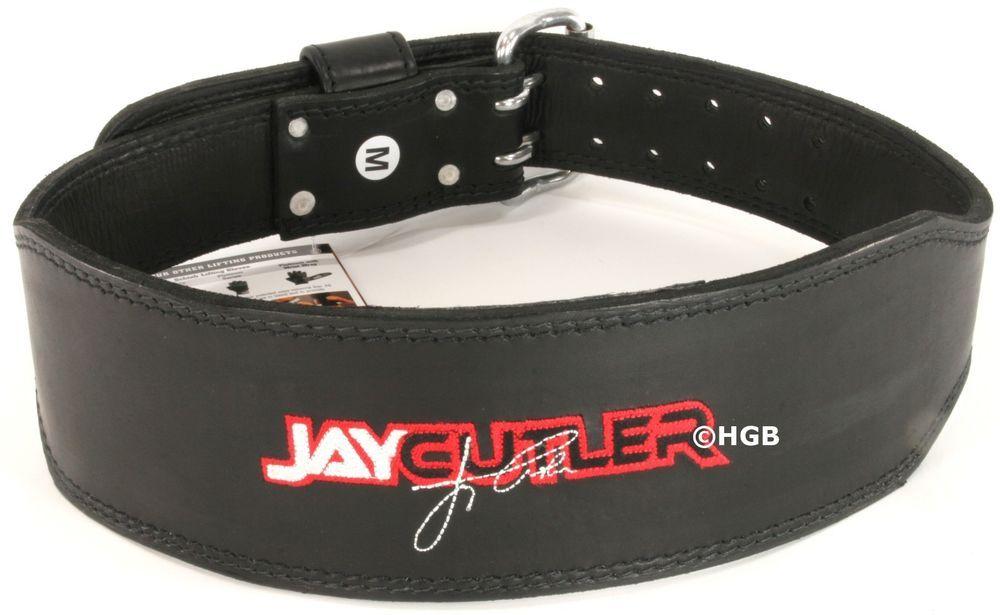 Black Large Sportbandage Schiek Sports Model J2014  Leather Jay Cutler Lifting Belt