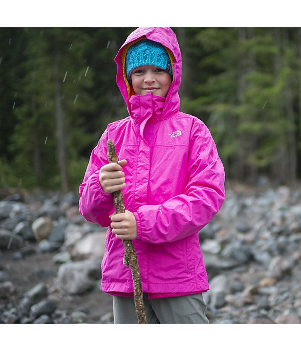Girls  Resolve Reflective Jacket. Help her transition into rainy  springtime weather with a mesh-lined  waterproof  rain  jacket that s  finished with ... 3027ff208