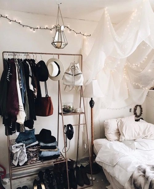 Kleiderstange mehr hipster also best decor images room ideas bohemian dorm hippy bedroom rh pinterest