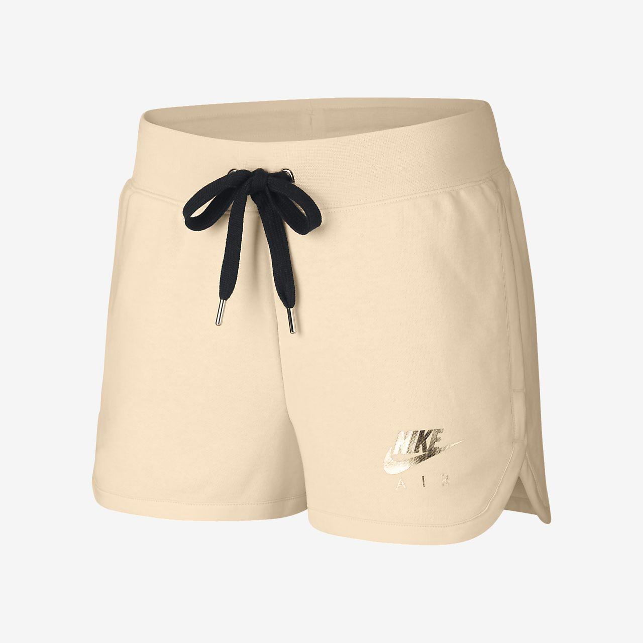 premium selection dea86 bcc24 Nike Air Fleece-Shorts für Damen