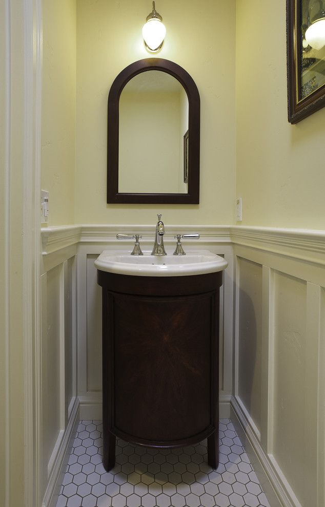 A Growing Family Traditional Powder Room San Francisco