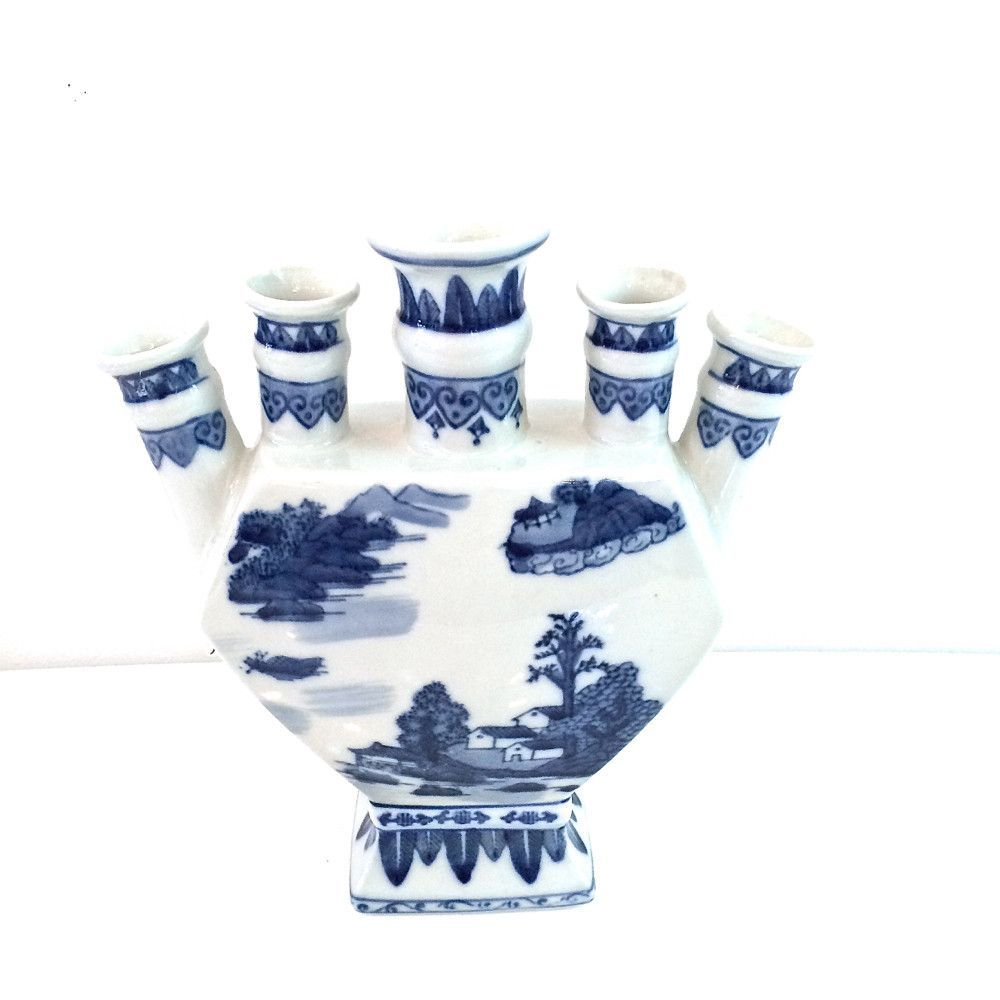 China blue tulip vase blue tulips and products beautiful blue ceramic tulip vase like famous for dutch tulips and lilacs perfect all year reviewsmspy