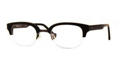 (Limited Supply) Click Image Above: La Eyeworks Thunder Eyeglasses Color 101495 Black W/dark Gun