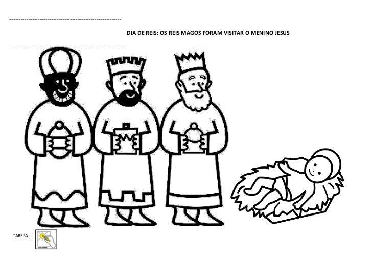 Os 3 Reis Magos Colorir Pesquisa Do Google Rei Reis Magos