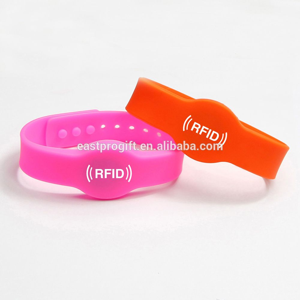 a on white stock bracelet color picture background rfid photo three