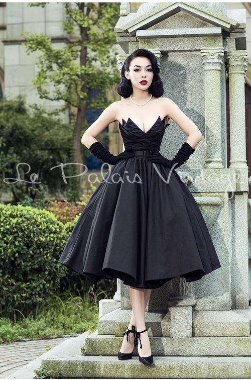 9b42294e830 Black Irregular tailoring full dress-8.jpg Ball Gown Dresses