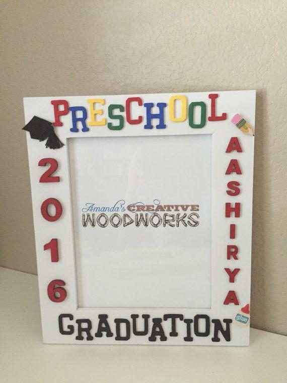 8x10 Personalized Preschool Picture Frame, Preschool Graduation ...