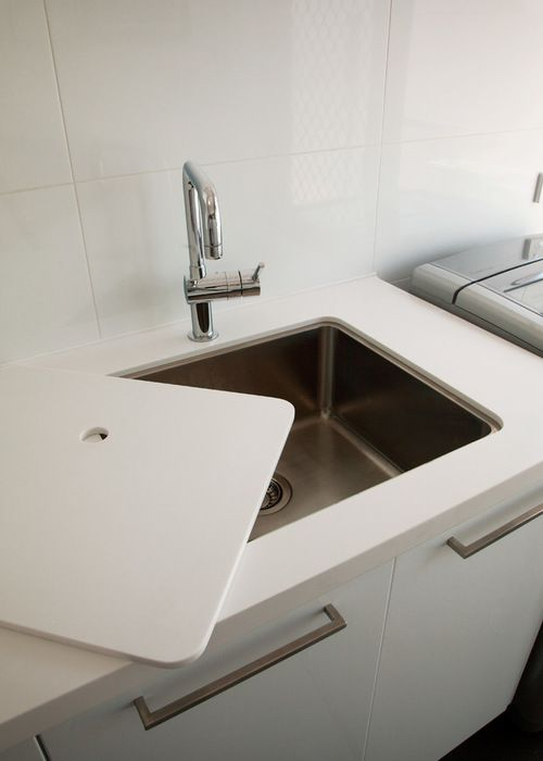 How To Make Your Family Laundry Work Harder Laundry Room Sink Laundry Design Laundry Room Remodel