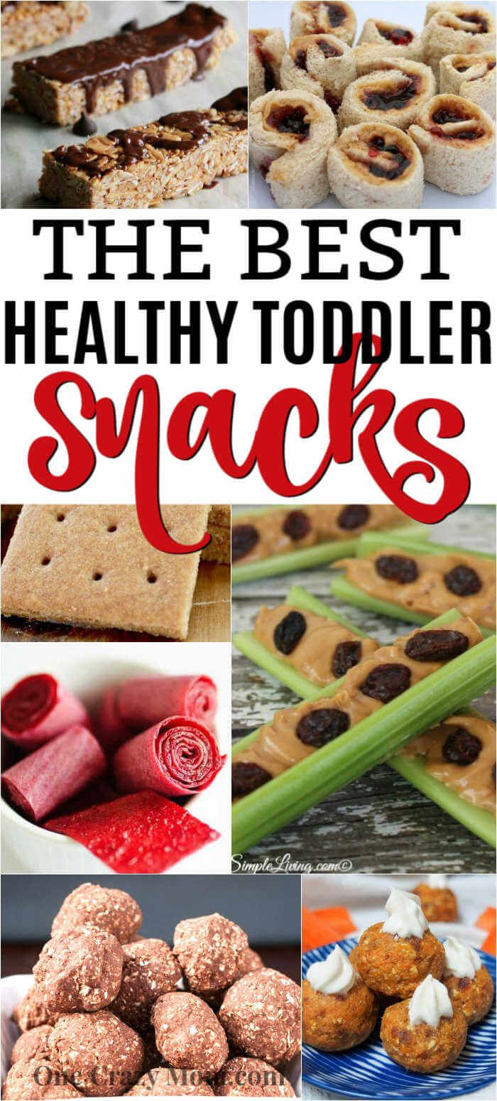 Healthy Snacks for toddlers - Over 25 of the best snacks for toddlers