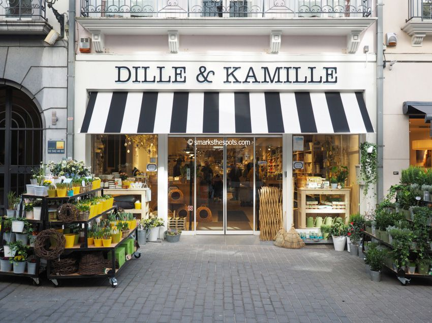 Dille Kamille S Marks The Spots Shop Interiors Store Displays Brussel