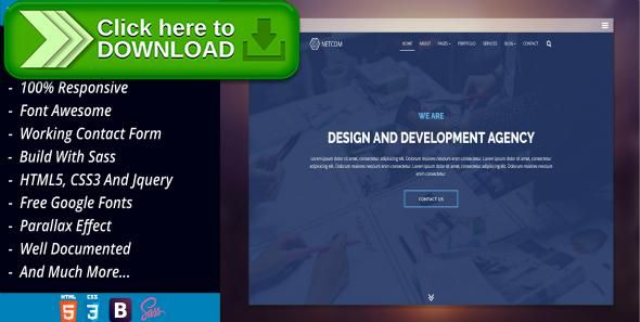 Free nulled NetCom - Creative Agency, Corporate Business