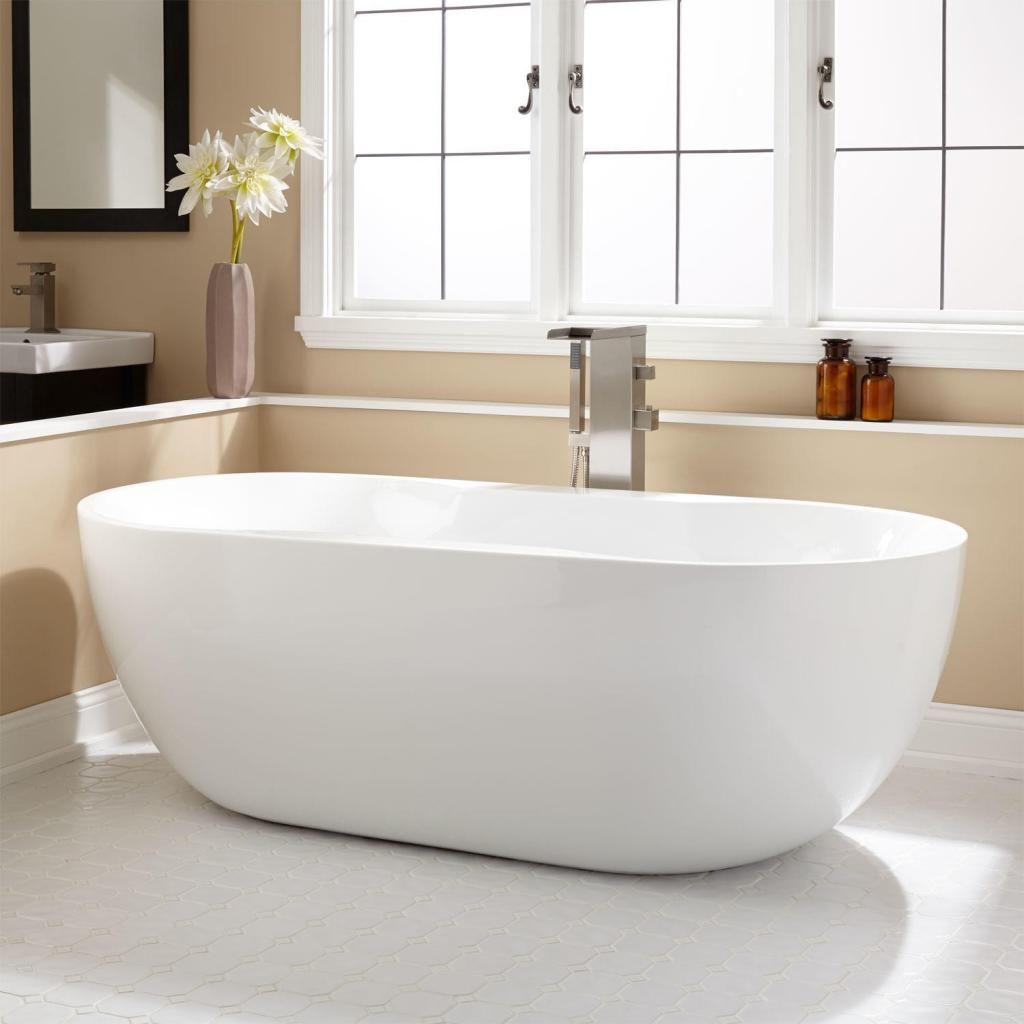 Beau Elegant Acrylic Kohler Freestanding Bathtubs