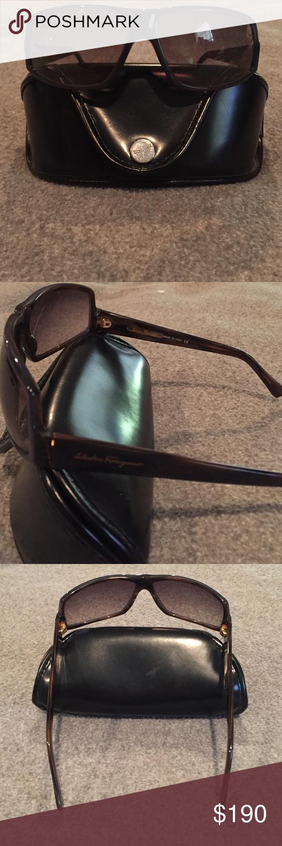 Authentic Salvatore Ferragamo Sunglasses Comes with Ferragamo case & cleaning cloth Salvatore Ferragamo Accessories Sunglasses