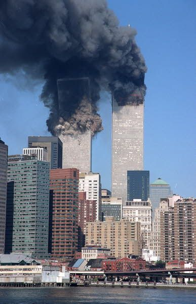 Image result for the twin towers on 9/11