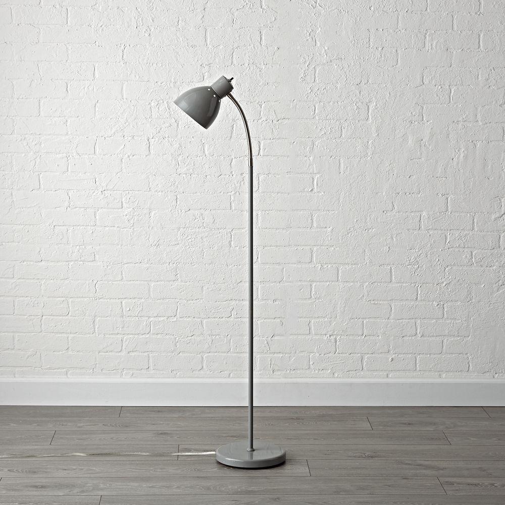 Grey Adjustable Floor Lamp Kids floor lamp, Adjustable