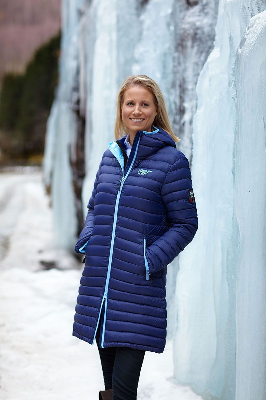 This Gorgeous Down Coat By Scandinavian Explorer Was One Of Our Best Sellers In 2017 And It Continues To Top The Sales Chart Jackets For Women Down Coat Women