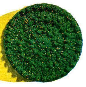 NEU! Rundes Kissen Häkelanleitung von Contemporary Crochet im ganzen Haus, ... ...