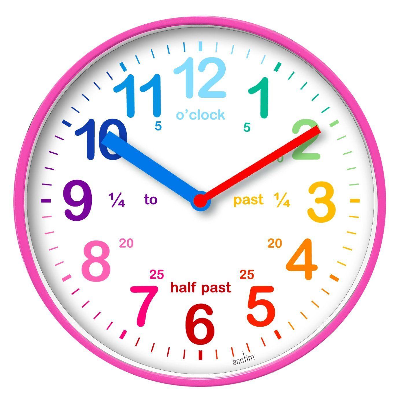 Acctim Wickford Kids Wall Clock 19 8cm