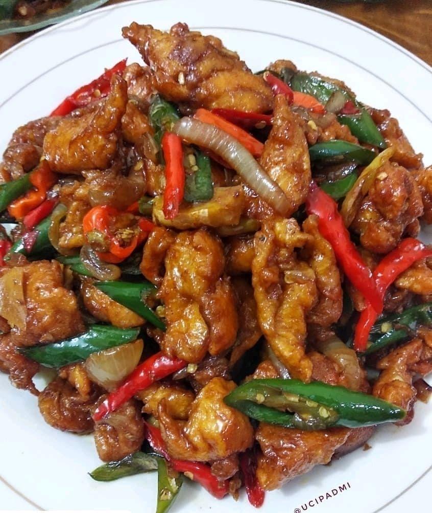 Mengental 8 Masukkan Ayam Fillet Karage Aduk Rata 4 Ayam Fillet Saus Jahe Foto Instagram Monicalie97 Bahan Resep Ayam Resep Masakan Ide Makanan