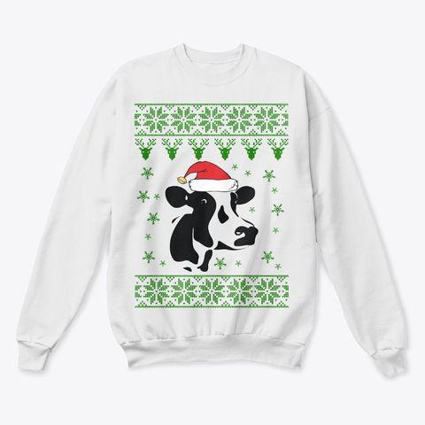 Cow Ugly Christmas Sweater Funny Ugly Christmas Gifts Christmas