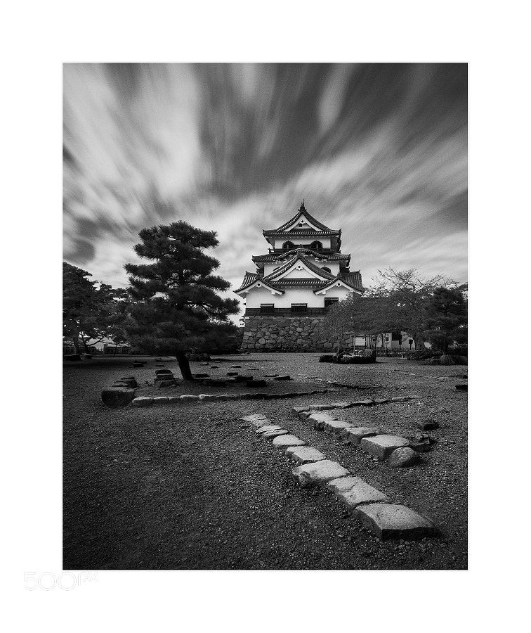 Azuchi Castle - Location : Lake Biwa Omi Province Japan  NOTE : Please feel free to SHARE. Thank you
