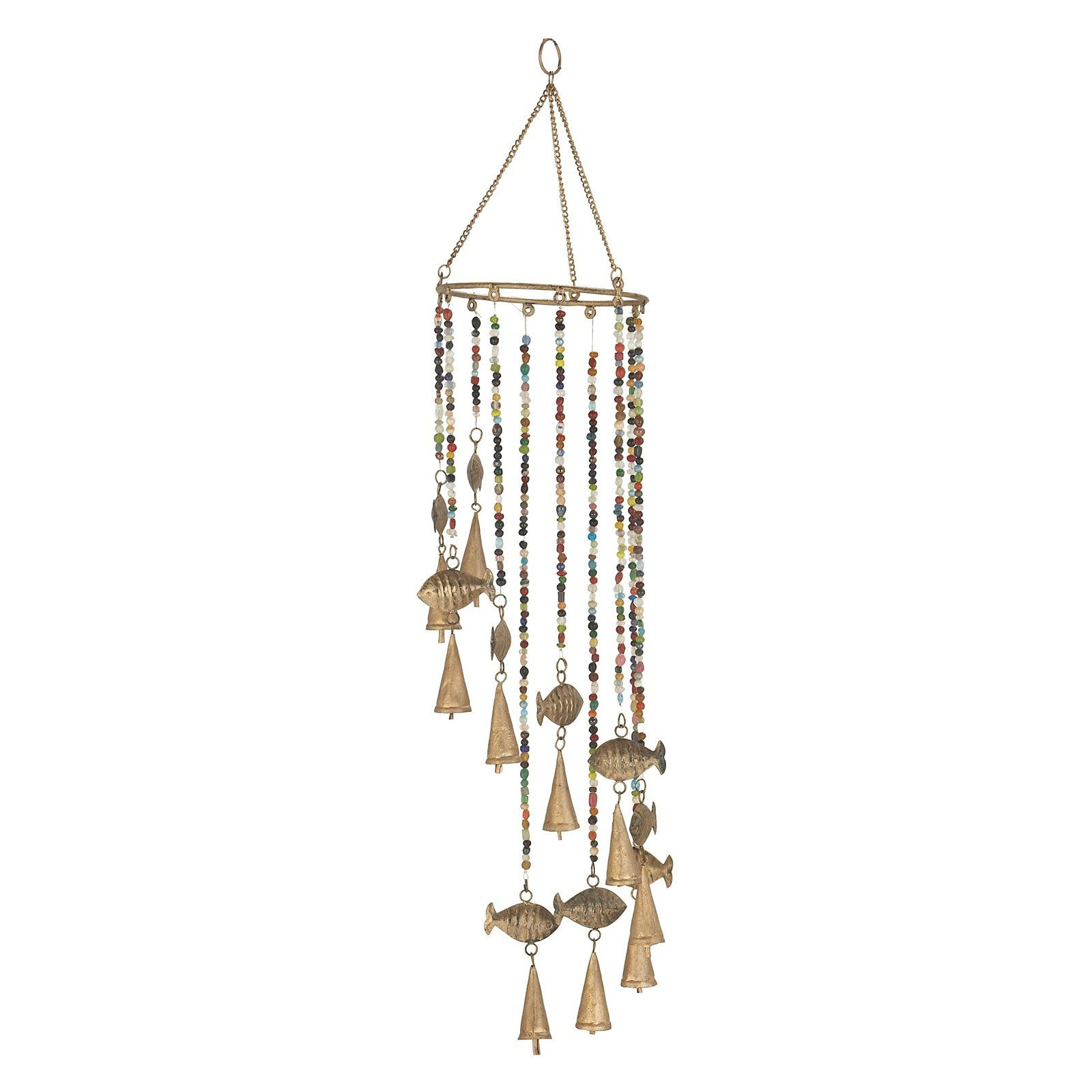 Decmode 26 In Fish Wind Chime Wind Chimes Decmode Chimes