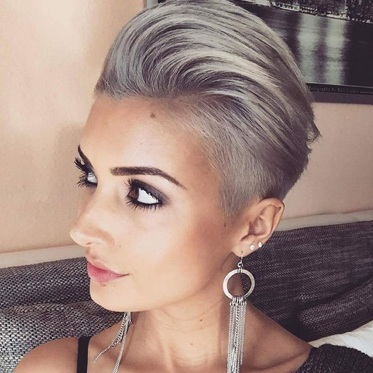 Instagram Post By Short Hairstyles Pixie Cut Jan 20 2016 At 6 02pm Utc
