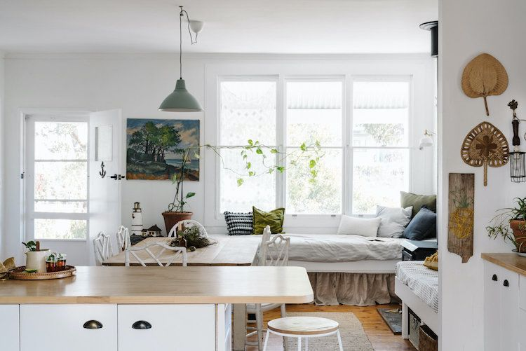 My Scandinavian Home Dream Airbnb Stay A Swedish Weatherboard Cottage In South Australia In 2020 Home Interior Living Spaces