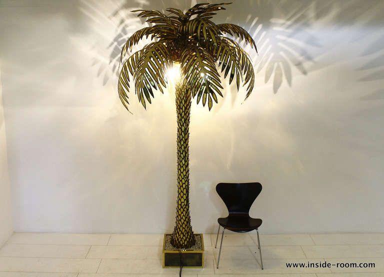 Giant maison jansen palm tree floor lamp pinterest tree floor 1stdibs giant maison jansen palm tree floor lamp aloadofball Choice Image