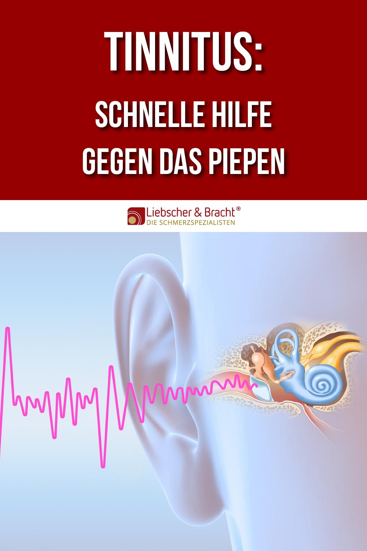 Schnelle Hilfe bei Tinnitus
