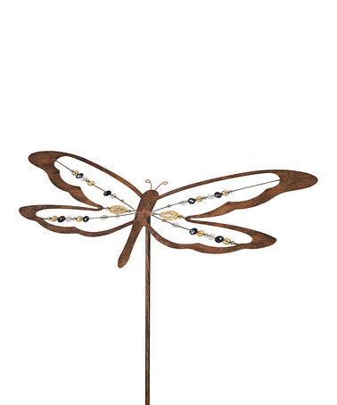 This Dragonfly Bobble Stake is perfect! #zulilyfinds