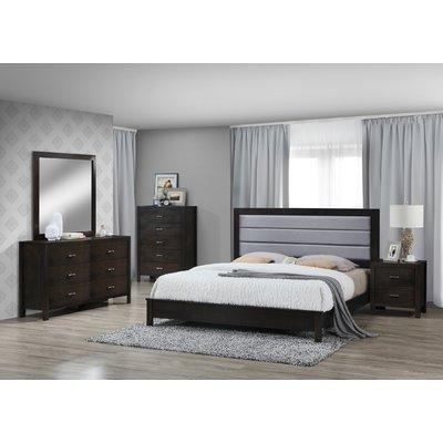 Mandy Wood Standard 5 Piece Bedroom Set 5 Piece Bedroom Set